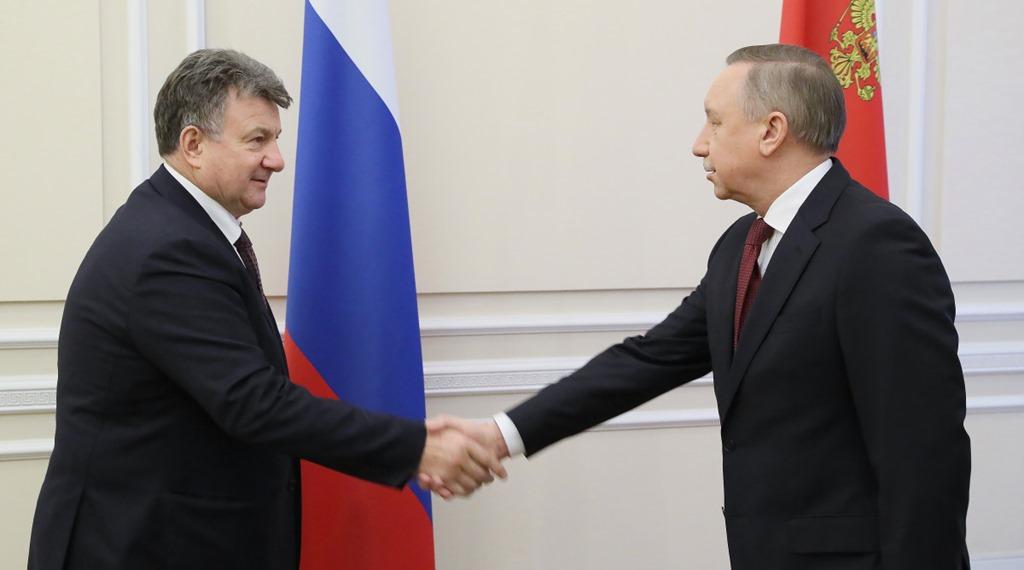 Беглов пообещал уполномоченному по защите прав предпринимателей пакет помощи